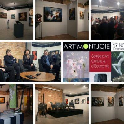 Inauguration de notre galerie Art' Montjoie à Toulouse