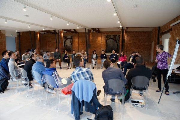 Salle de conférence Atrium Toulouse Domaine de Montjoie
