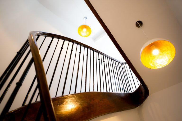 Escalier ancien Domaine de Montjoie